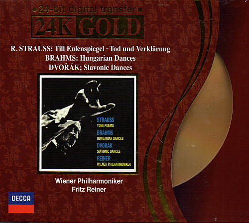 【停看聽音響唱片】【CD】R.STRAUSS:TONE POEMS.BRAHM / DVORAK:DANCES WINENER PHILHARMONIKER / REINER