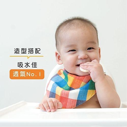 HIBOU 日本和歌山印花布領巾/圍兜[衛立兒生活館]