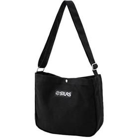 SILAS(サイラス)CANVAS ROUND SHOULDER BAG ブラック ONE SIZE