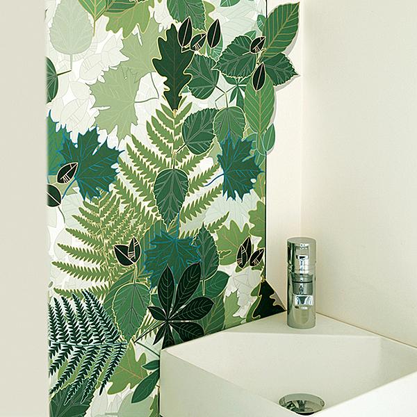 [庫存有限]【進口牆紙】熱帶風壁紙 叢林 綠色 法國 SWABDESIGN【訂貨單位80cm×190cm/卷】