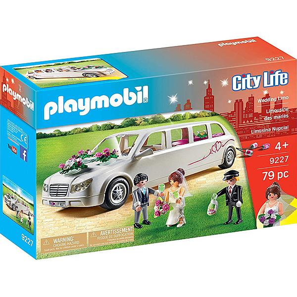 摩比積木 playmobil 婚禮 加長禮車