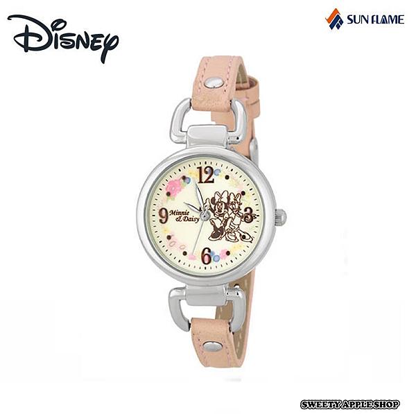 日本限定 J-AXIS 迪士尼 米妮&黛西 時尚腕錶 / 手錶