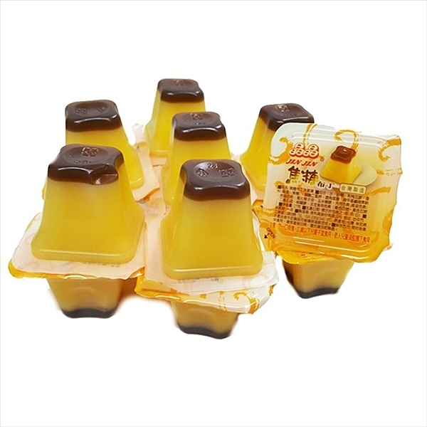 晶晶果凍-焦糖布丁口味 1000g【2019070800049】(台灣果凍)