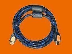 【世明國際】HDMI線 五米 5米 雙磁環帶編織網高清數據線 1.3版 HDMI連接線 PC 遊戲機 TV