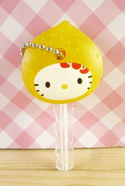 【震撼精品百貨】Hello Kitty 凱蒂貓~KITTY鎖套-檸檬黃