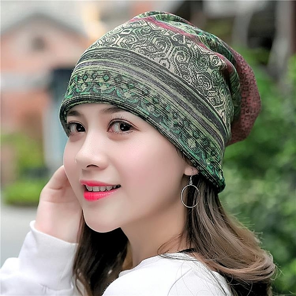 月子帽 薄款透氣正韓套頭帽 季棉紗包頭帽子女性月子貼皮膚頭巾帽