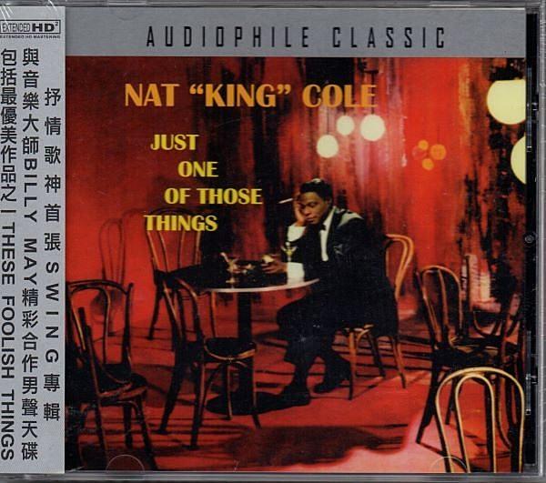 """停看聽音響唱片】【CD】  NAT """"KING"""" COLE JUST ONE OF THOSE THINGS"""