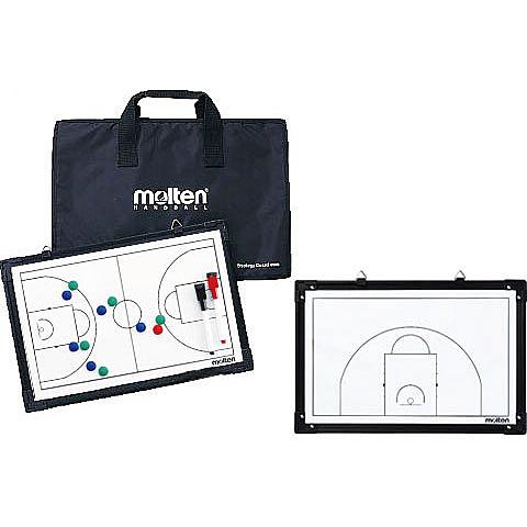 [陽光樂活=]MOLTEN 籃球教練板  SB0050 教練板 戰術板 手提袋 附紙筆等