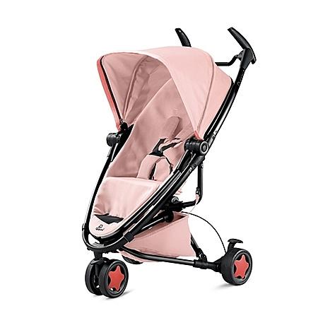 Quinny Zapp Xtra2 Miami 嬰兒手推車(黑框粉)+贈MAXI-COSI CabrioFix 提籃(顏色隨機出貨)[衛立兒生活館]