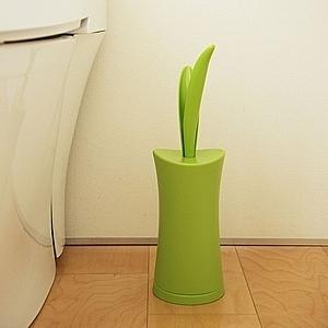 日本AISEN花葉造型馬桶刷(蘋果綠)