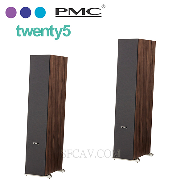 【新竹音響勝豐群】PMC twenty5.26 胡桃木/落地型喇叭