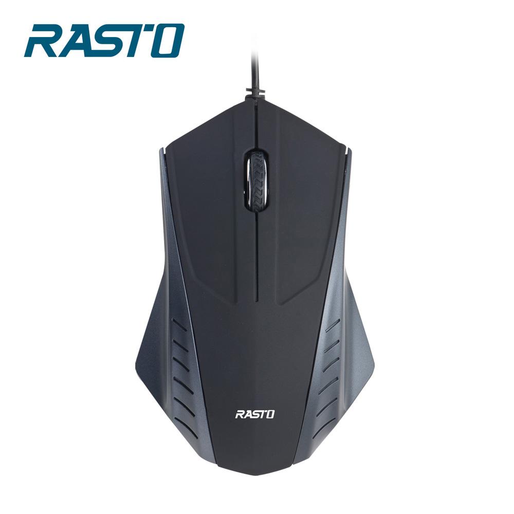 RASTO RM2 翼。有線光學滑鼠