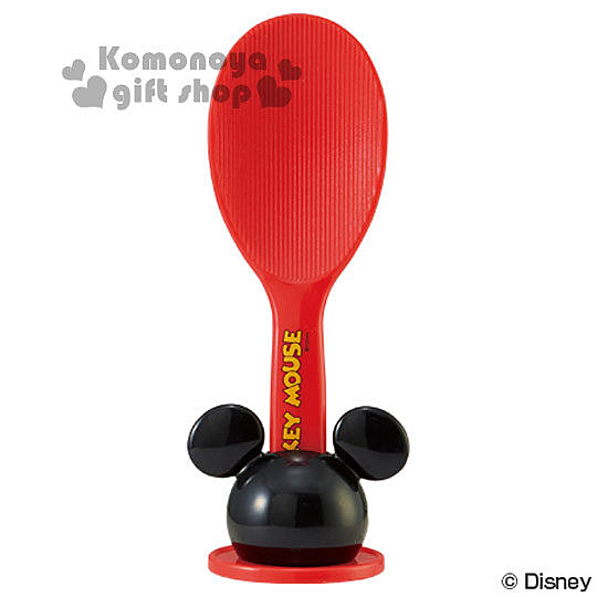 〔小禮堂〕迪士尼 米奇 飯匙附造型盒《紅.大臉》美化生活樂趣 4973307-29674
