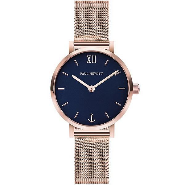 【台南 時代鐘錶 PAUL HEWITT】德國工藝 Sailor Line 簡約風格腕錶 小款 PH-SA-R-XS-B-45S