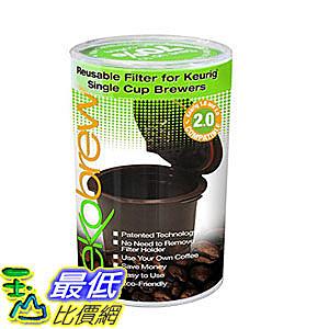 [2美國直購] 咖啡杯 B00K8FR2P8 Ekobrew Refillable K-cup for Keurig 2.0 and 1.0 Brewers 1cup $725