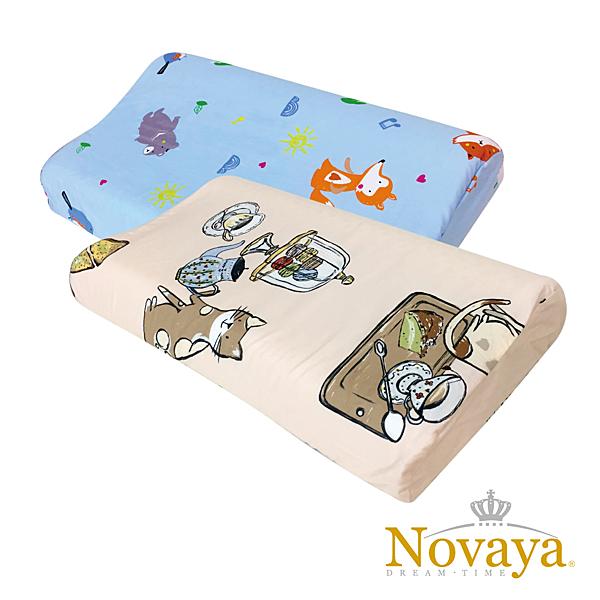 【Novaya】《微笑寶貝》恆溫水冷凝膠人體工學兒童枕(9款)