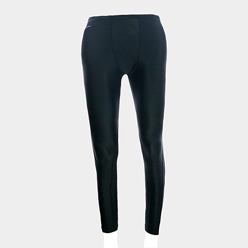 MOVIN  運動彈力長褲  黑黑  MA31215B  機能壓力運動長褲----女