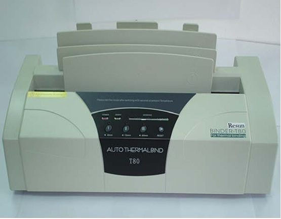 Resun 桌上型 電子 膠裝機 / 台 T-80