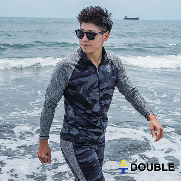 《Double束胸》新版ZIP防磨束胸泳衣【D67】