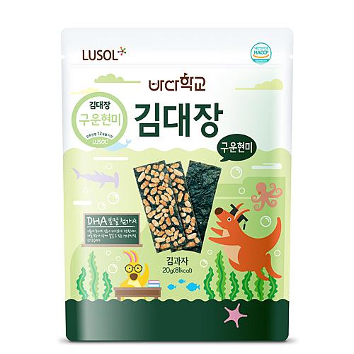 【愛吾兒】韓國 LUSOL 烤糙米海苔