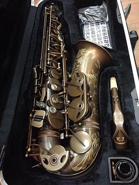 凱傑樂器  薩克斯風 KJ VI NING CUSTOM  ALTO 中音 復古銅色