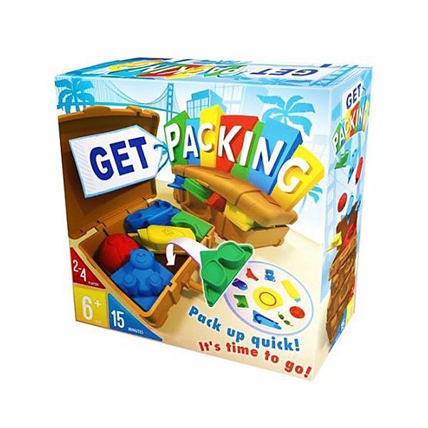 【樂桌遊】G兒童桌遊-收納達人 Get packing(繁中版)