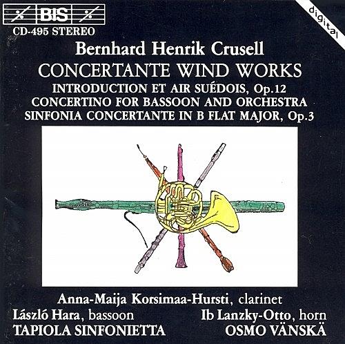 【停看聽音響唱片】【CD】克魯塞爾:管樂作品集