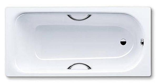 【麗室衛浴】德國 KALDEWEI Saniform Plus Star H-435 瓷釉鋼板浴缸(含雙把手)170*75*41CM