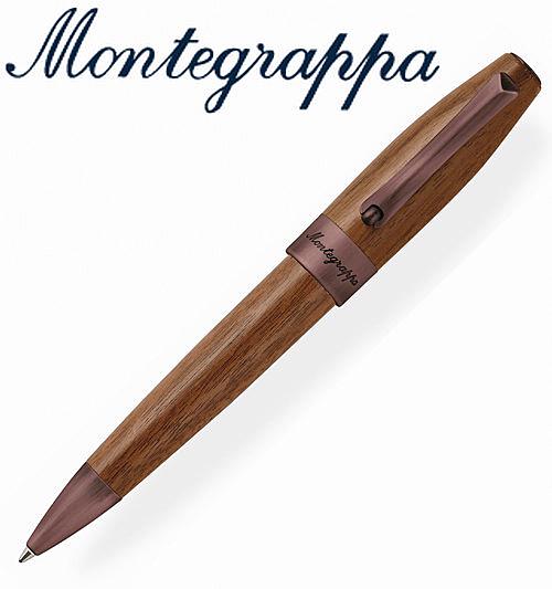 【預購】義大利Montegrappa萬特佳 財富原木筆系列 - 原子筆 (胡桃木) ISFOWBIW / 支
