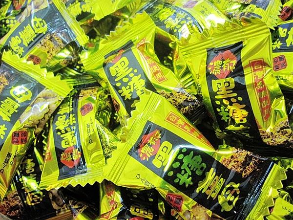 年貨大街 ‧散糖硬糖區‧ 黑糖薑母糖 300g(半斤)【合迷雅好物超級商城】