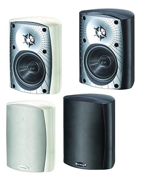 【名展音響】加拿大 Paradigm 戶外喇叭 Stylus 170 v.3 / (兩支) 組 黑白兩色可選