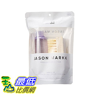 [106美國直購] Jason Markk Premium Shoe Cleaner Brush And Solution
