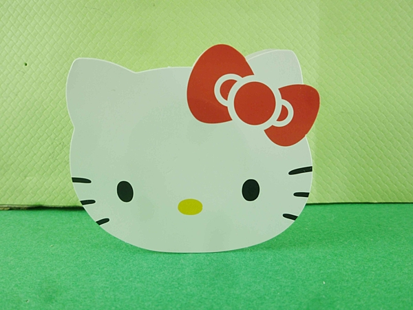【震撼精品百貨】Hello Kitty 凱蒂貓~滾輪貼紙-白色大頭
