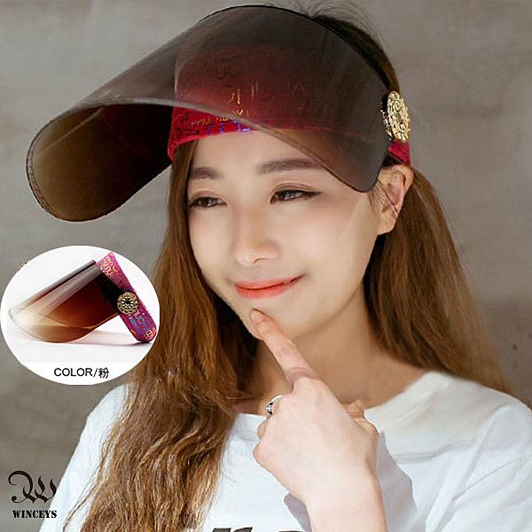 新款百搭防紫外線遮陽帽-WINCEYS