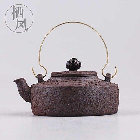 純全手工 紫砂茶壺