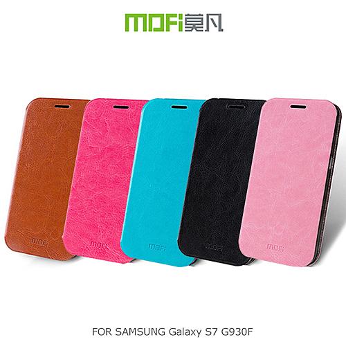 MOFi SAMSUNG Galaxy S7 G930F 睿系列 側翻站立皮套 皮革 保護套 手機套