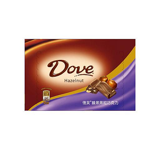 德芙榛果果粒巧克力-盒裝【合迷雅好物超級商城】