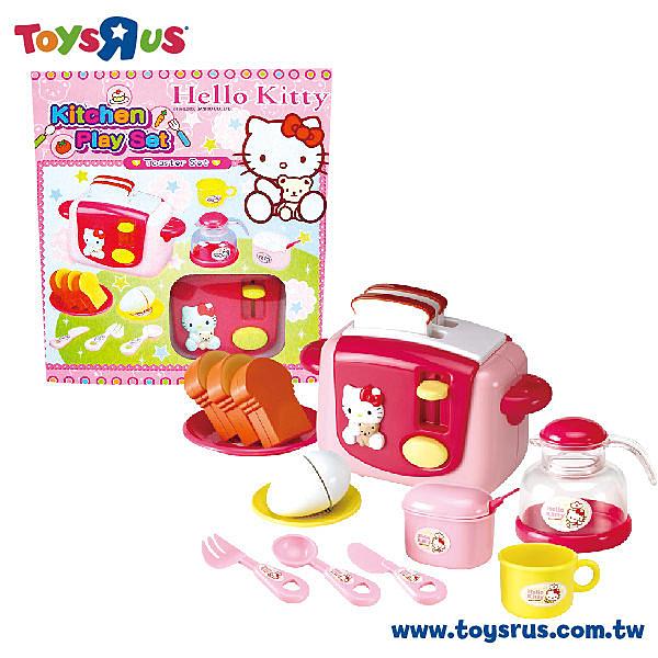 玩具反斗城 【Hello Kitty】凱蒂貓烤麵包機