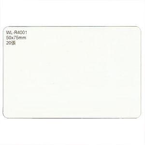 華麗牌 可再貼標籤 WL-R4041空白 35x105mm(20入)