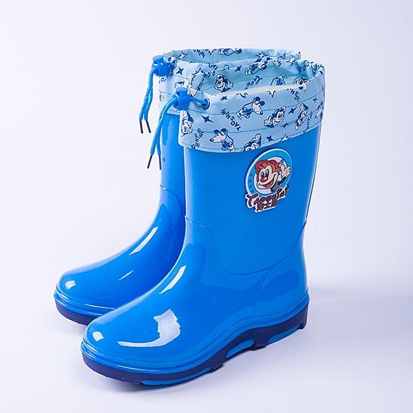 兒童雨鞋男童女童中筒防滑加絨保暖卡通水鞋小孩學生寶寶雨靴膠鞋 露露日記