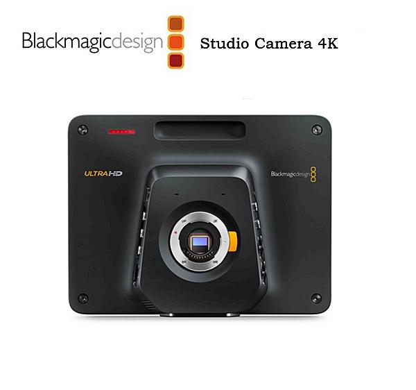 黑熊館 Blackmagic Design 黑魔法 Studio Camera HD 4K 2 演播室攝像機 攝影機