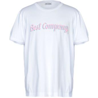 《セール開催中》BEST COMPANY メンズ T シャツ ホワイト M コットン 100%