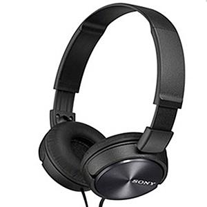 【送收納袋】SONY MDR-ZX310 智慧型手機適用 耳罩式耳機 繽紛五色黑色