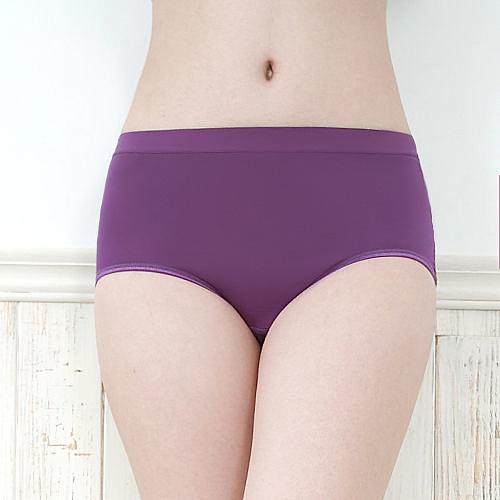 【露娜斯】液化鈦除臭天然木代爾材質夜安型生理褲【紫】P6035