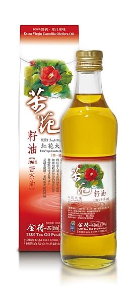 金椿茶油工坊~紅花大果茶花籽油500ml/罐~