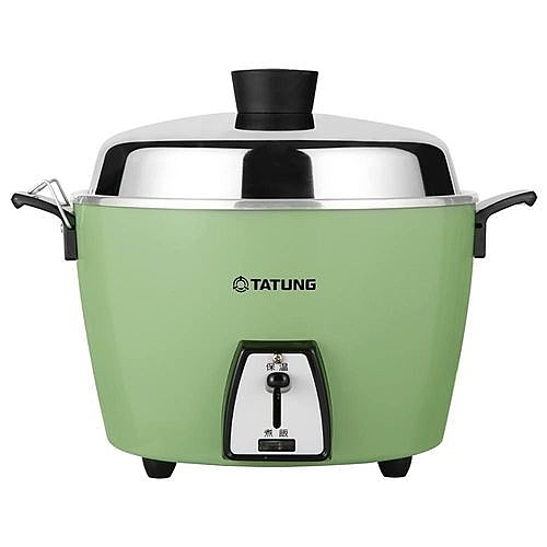 【艾來家電】【分期0利率+免運】大同TATUNG 6人份不鏽鋼內鍋電鍋TAC-06L-DG (翠綠色)