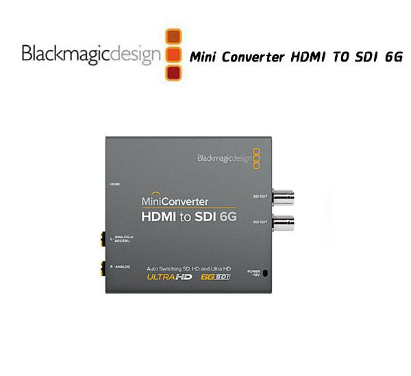 【EC數位】Blackmagic HDMI 轉 SDI 6G 迷你轉換器