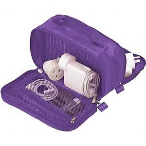 Lapoche 集線收納包-紫色