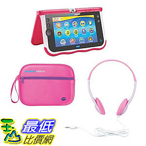 [106美國直購] 粉色兒童平板 Vtech Innotab MAX Bundle - Pink B00OO172G6