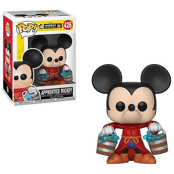 Funko POP! Disney 迪士尼公仔 米奇90週年 魔法師米奇 【鯊玩具Toy Shark】
